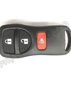 Remote chìa khóa điều khiển ô tô Nissan Tiida,Livina, X-Trail